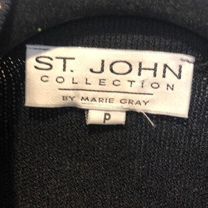 St. John Jackets & Coats - ST JOHN KNIT  CROPPED JACKET